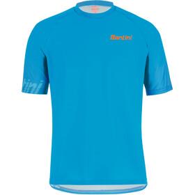Santini Sasso MTB S/S Jersey Men turquoise